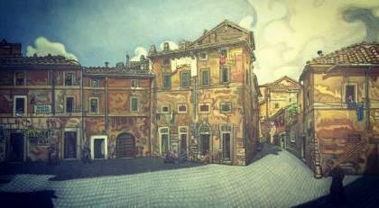 Benvenuto ferrazzi a villa torlonia: tra visioni e vedute