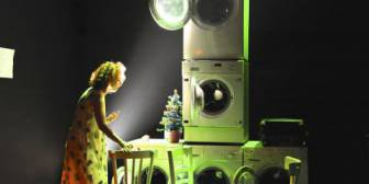 La voce umana, teatro Brancaccino