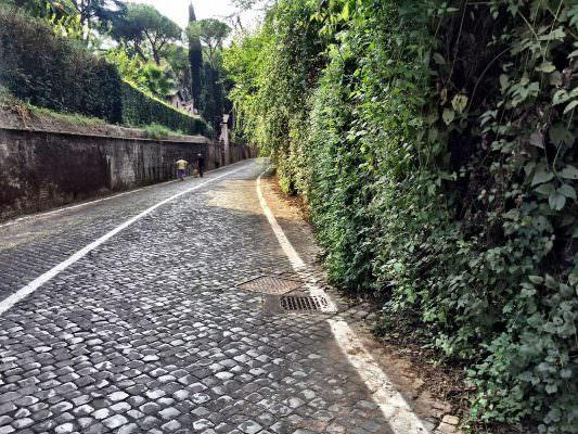 Via di Porta San Sebastiano, panorami sonori