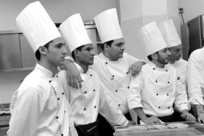 Roma Cittˆ del Gusto Aprile 2009. serata finale corso professione cuoco 21 © Francesco Vignali