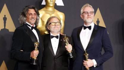 Bertolazzi, Gregorini e Nelson, Oscar 2017