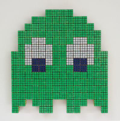 Invader_The green ghost, 2008