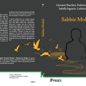 Sabbie Mobili libro copertina Isabella Inguscio Ludovica Tripodi Giovanni Buccheri Federico De Giorgi