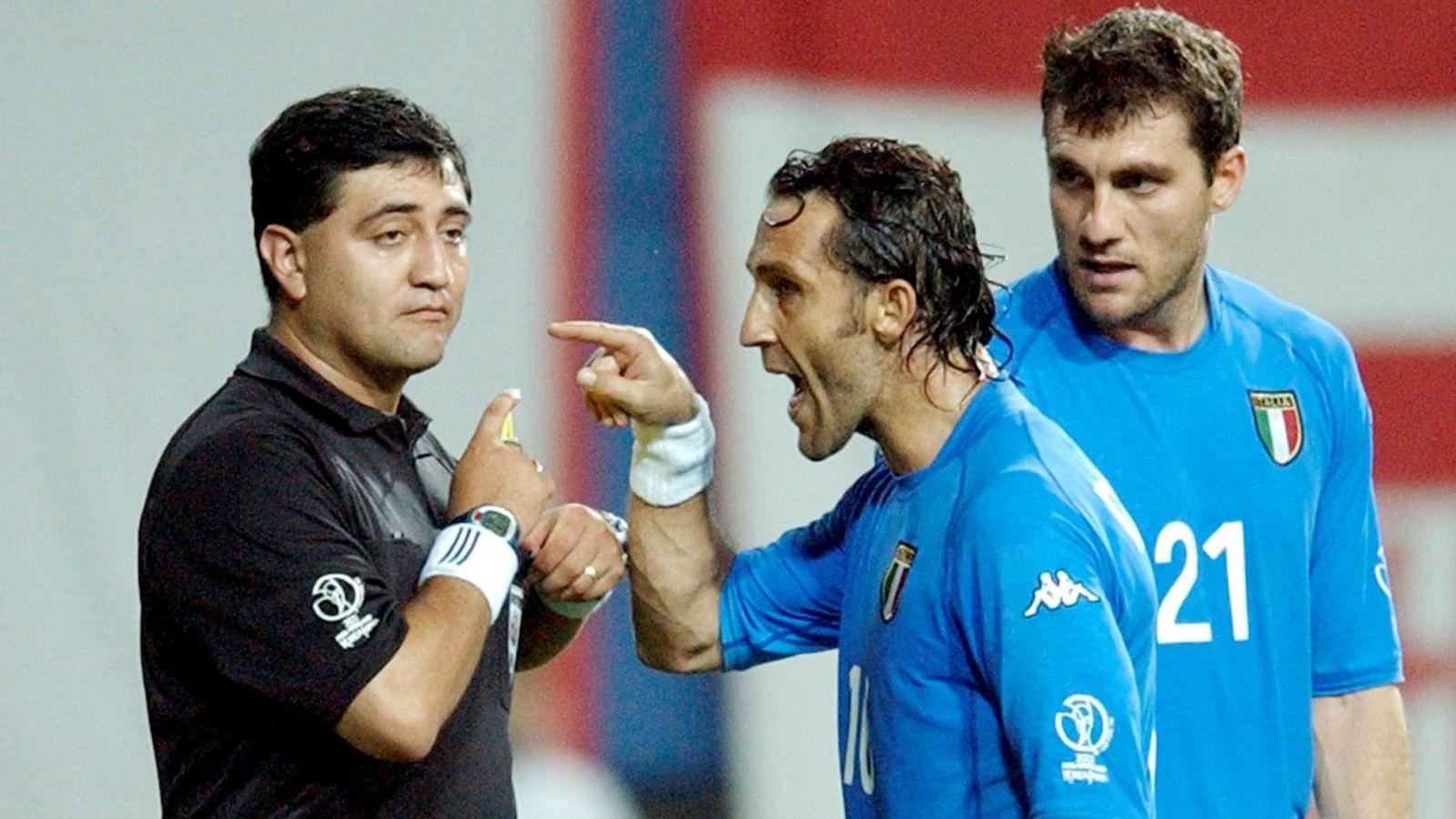 Italia-Corea 1-2, è sempre colpa di Byron Moreno